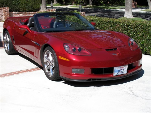 C6 AERO-PLATE RED GRAND SPORT FRONT PLATE 3-13-2001.JPG