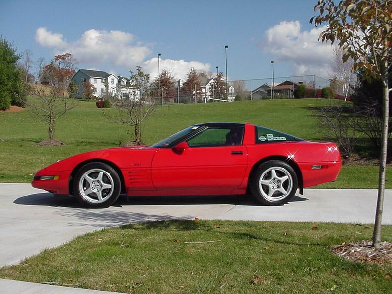 1991 Red/Tan and Turquoise/Black ZR-1's, (RED)Borla Exhaust, 4:10 Gears, Intake Ported, Lowered (Turquoise) Lowered