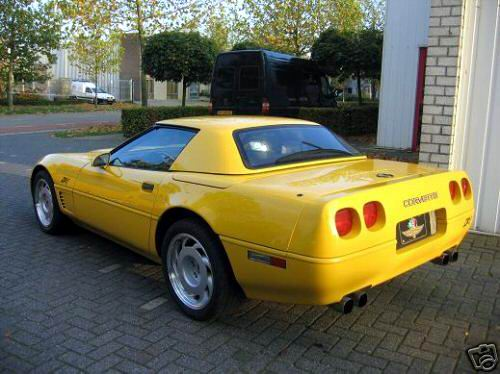 1991 aftermarket ZR-1 convertible.
