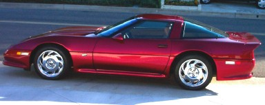 Bob Cope 1990 Red Candy/Wineberry ZR-1